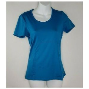 Lucy Tech Athletic Activewear Blue Reflective XS